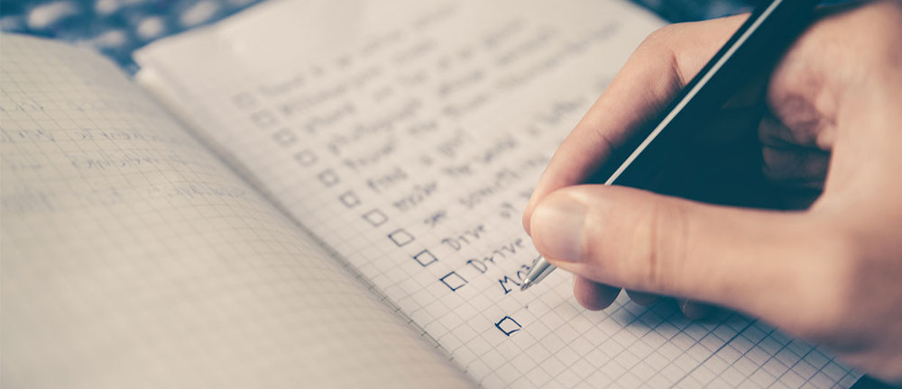CHECKLIST TO SELLING YOUR PROPERTY -