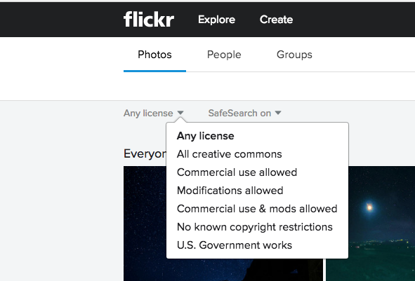 "Reputable sites make it easy to find copyright info - ideal is ""commercial use allowed"""