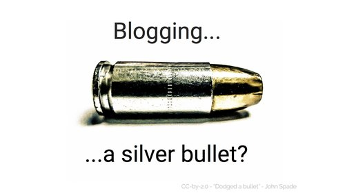 starting a business blog - a silver bullet