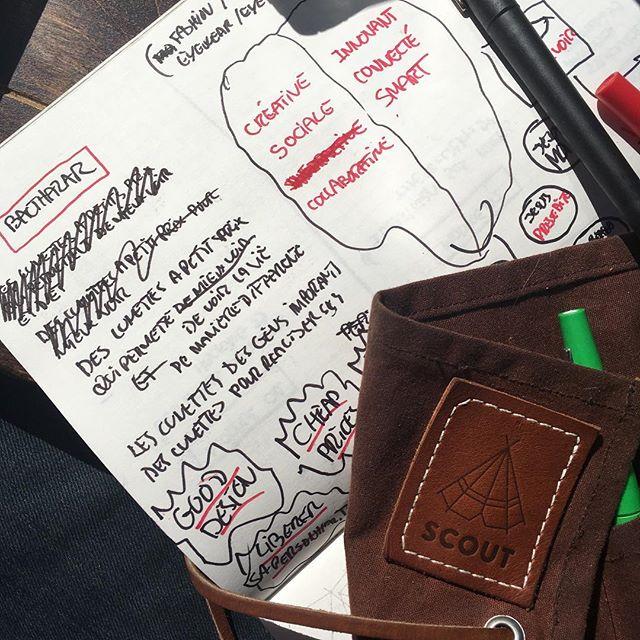 #Brainstorming du lundi. #pasderepospourlesbraves
