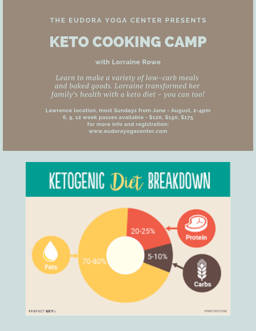 Keto Cooking Summer Camp