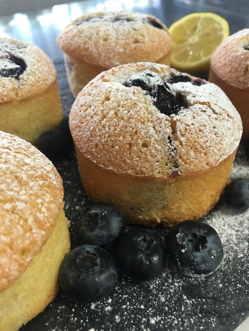 Blueberry & Lemon Friands (Recipe Coming Soon)