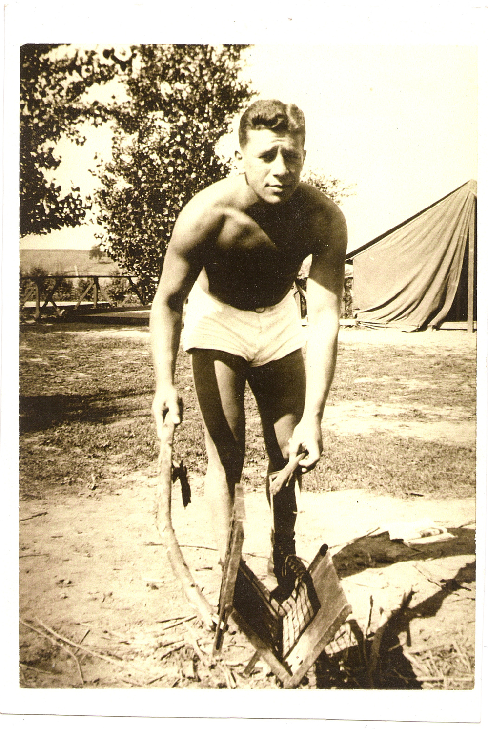 My Dad, Joseph Bello Snyder, who was a basketball player for the ABA and a referee for the NCAA, the owner of Camp Eagle Cove in Inlet, NY for nearly 50 years. He was also a huge proponent of exercise through every stage of his life.