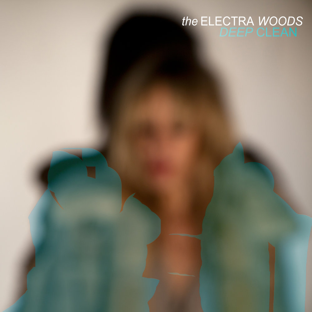 Cover artwork for DEEP CLEAN EP from The Electra Woods, released on the DRESS label.