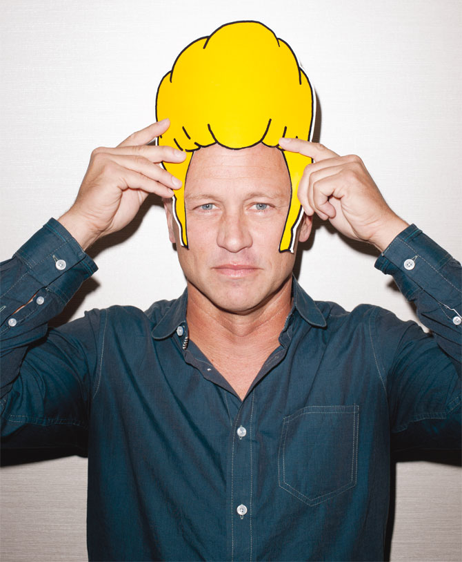 Beavis Mask (Trimmed out for Terry Richardson photo)