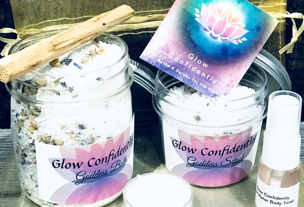 Glow Confidently   - Bath & body products