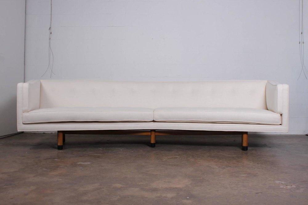Angled Sofa By Edward Wormy For Dunbar