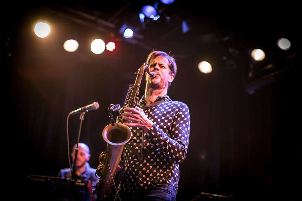Donny McCaslin Group live at Victoria Nasjonal Jazzscene, Oslo