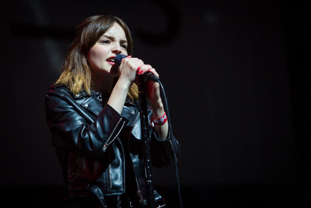 CHVRCHES at Øyafestivalen