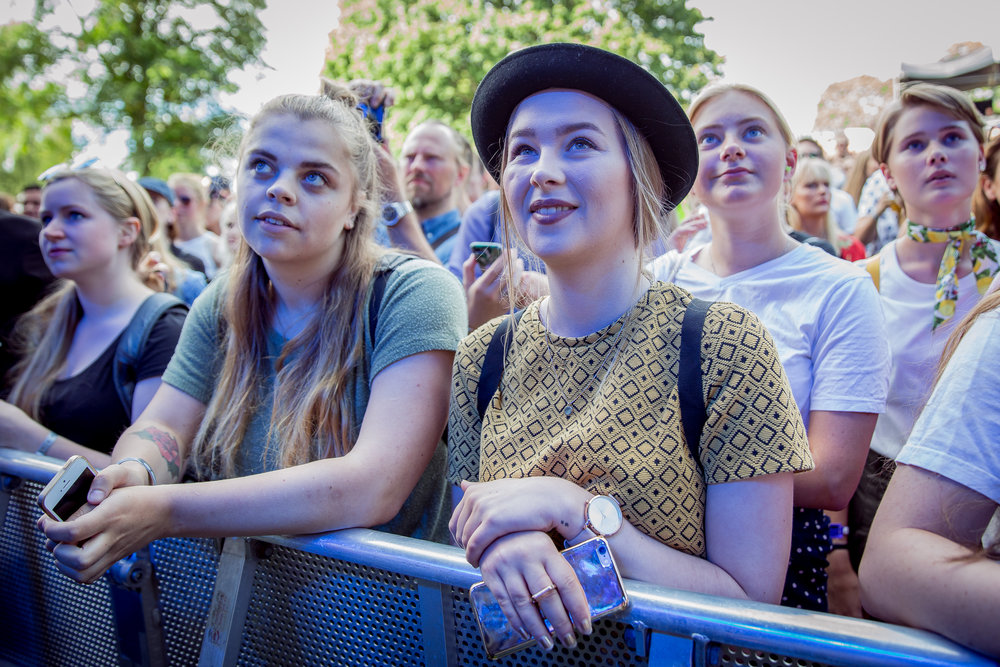 Audience at the Sigrid concert