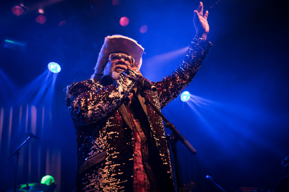 George Clinton and Parliament Funkadelic at Rockefeller, Oslo
