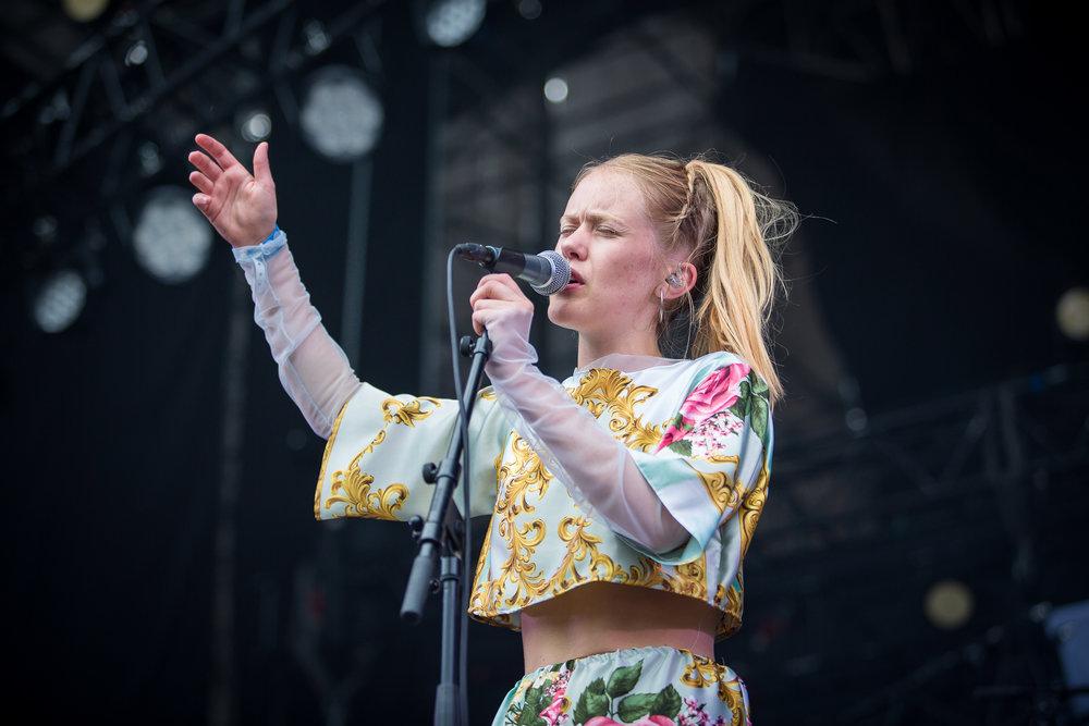 Pom Poko at Øyafestivalen
