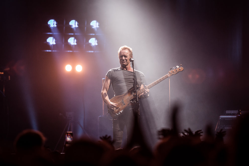 Sting at Oslo Spektrum, Oslo