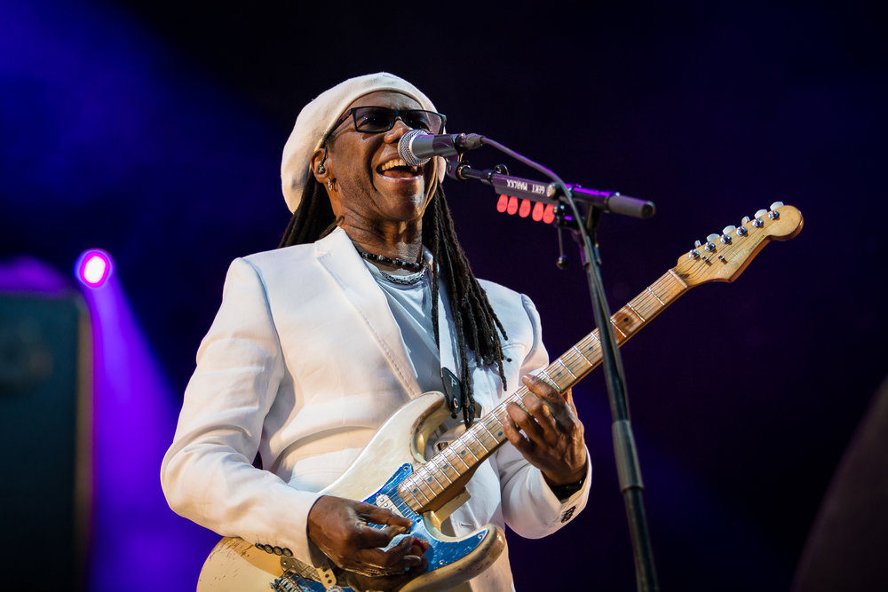 Nile Rodgers at Øyafestivalen 2015, Oslo.