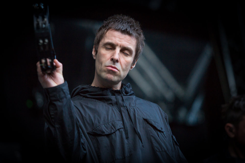 Liam Gallagher live at Bergenfest 2017, Bergen.