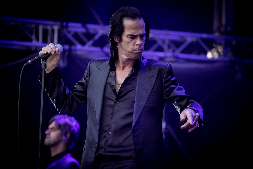 Nick Cave & The Bad Seeds live at Bergenfest 2013, Bergen.