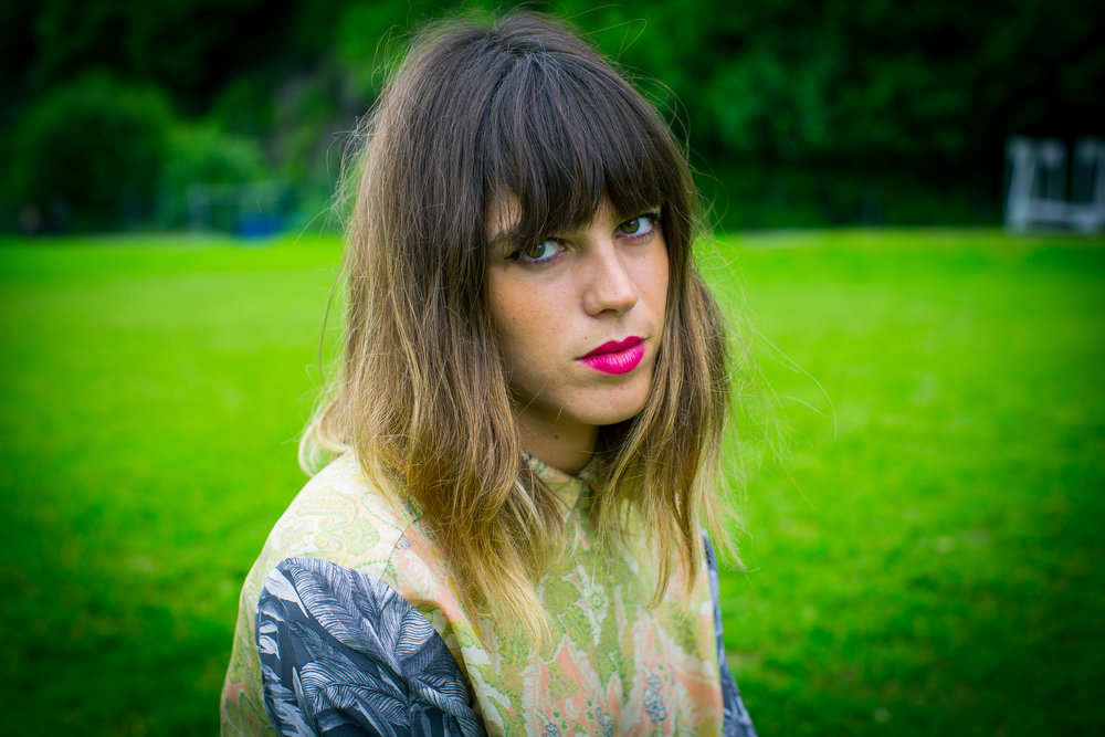 Melody's Echo Chamber backstage at Bergenfest 2013, Bergen.