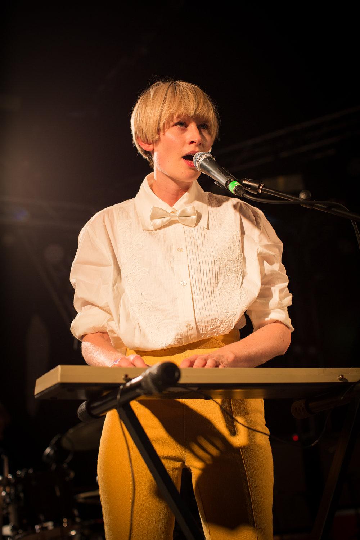 Jenny Hval live at Øyafestivalen 2013, Oslo.