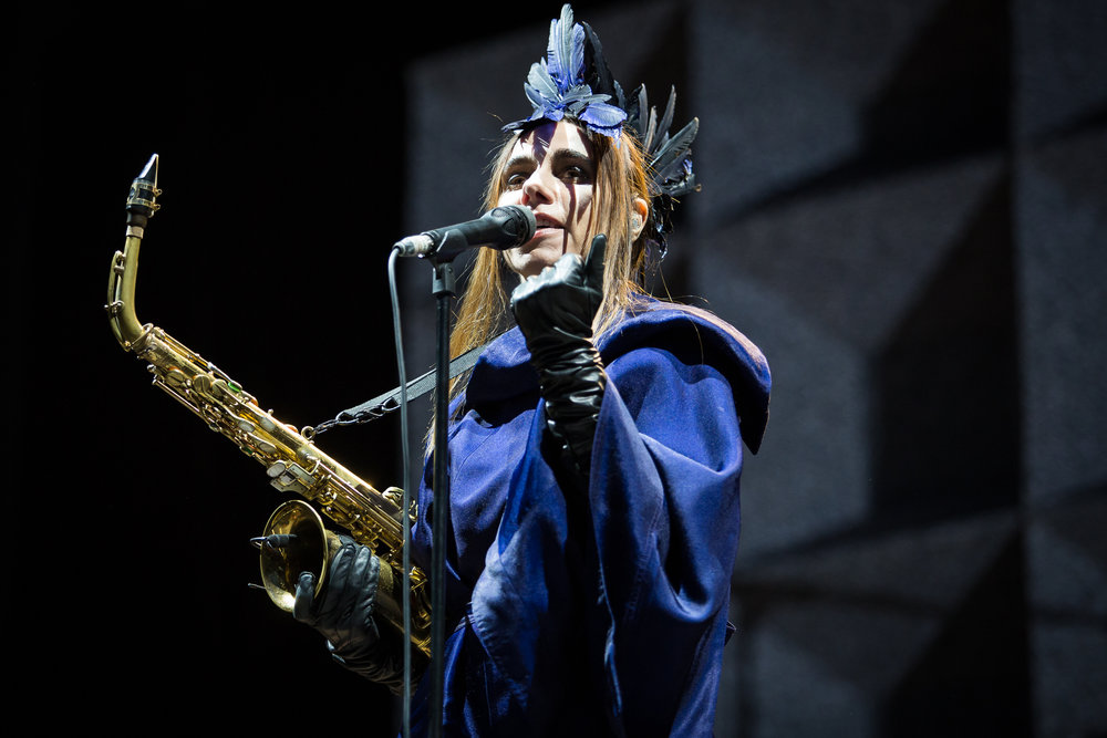 PJ Harvey live at Øyafestivalen 2016, Oslo.