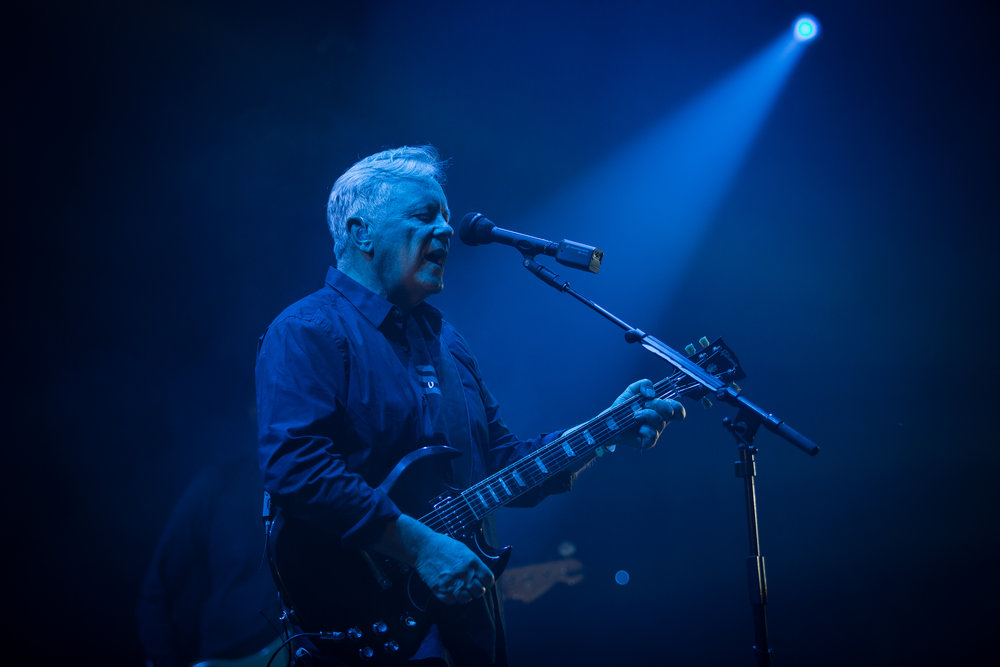 New Order live at Øyafestivalen 2016, Oslo.