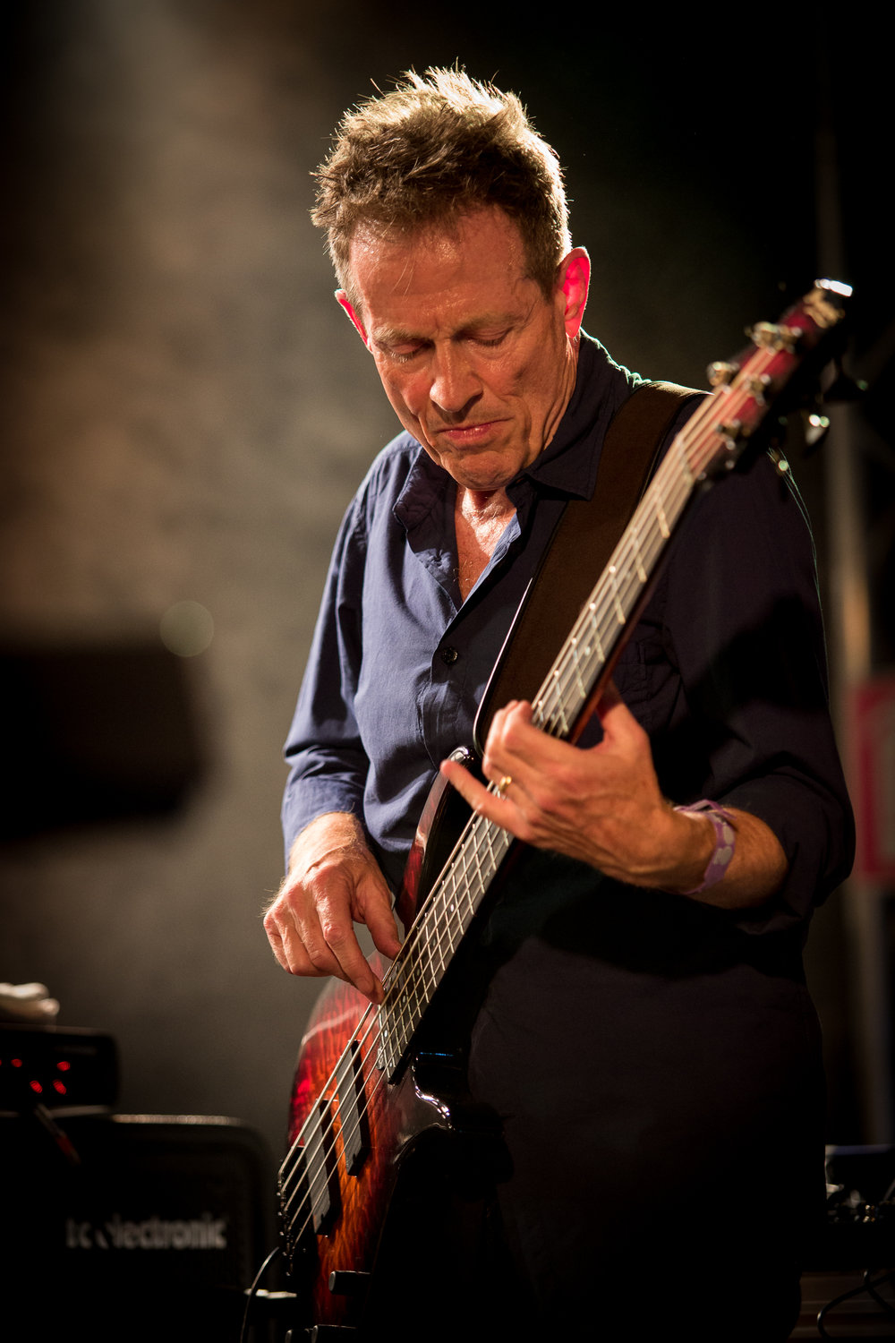 John Paul Jones of Led Zeppelin live at Øyafestivalen 2013, Oslo.