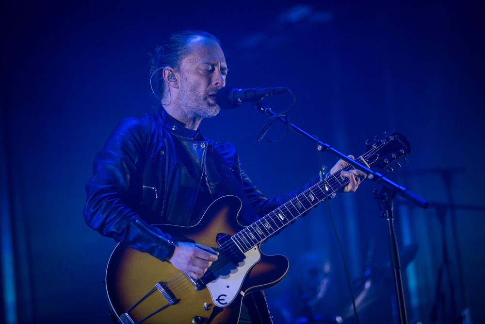 Radiohead live at Primavera Sound 2016, Barcelona.