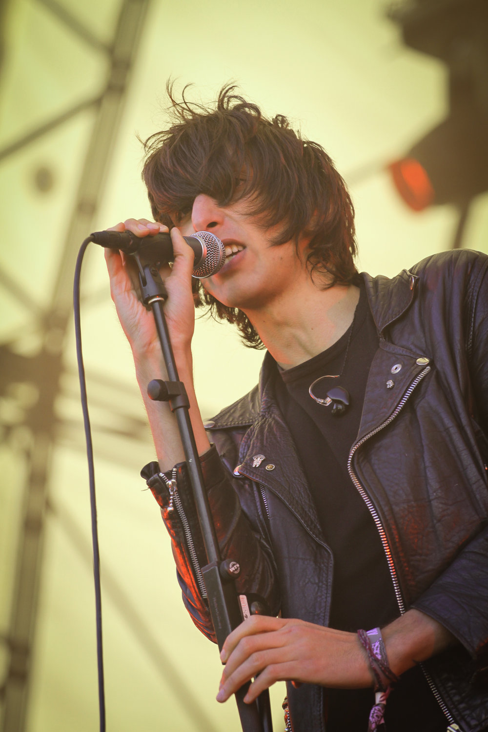 The Horrors at Hovefestivalen 2012, Arendal.