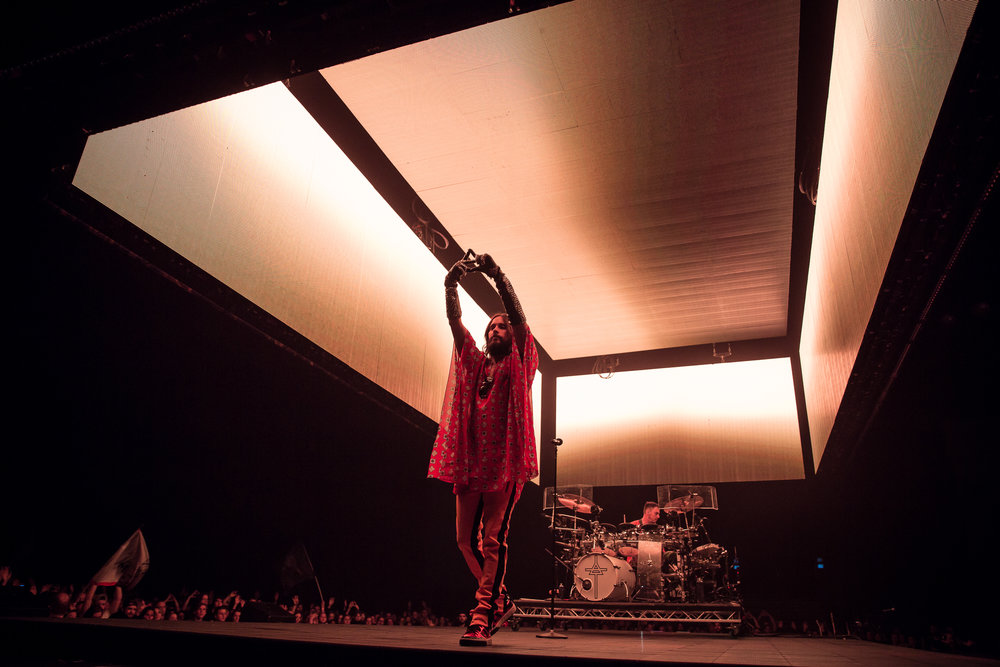 Thirty Seconds To Mars live at Oslo Spektrum