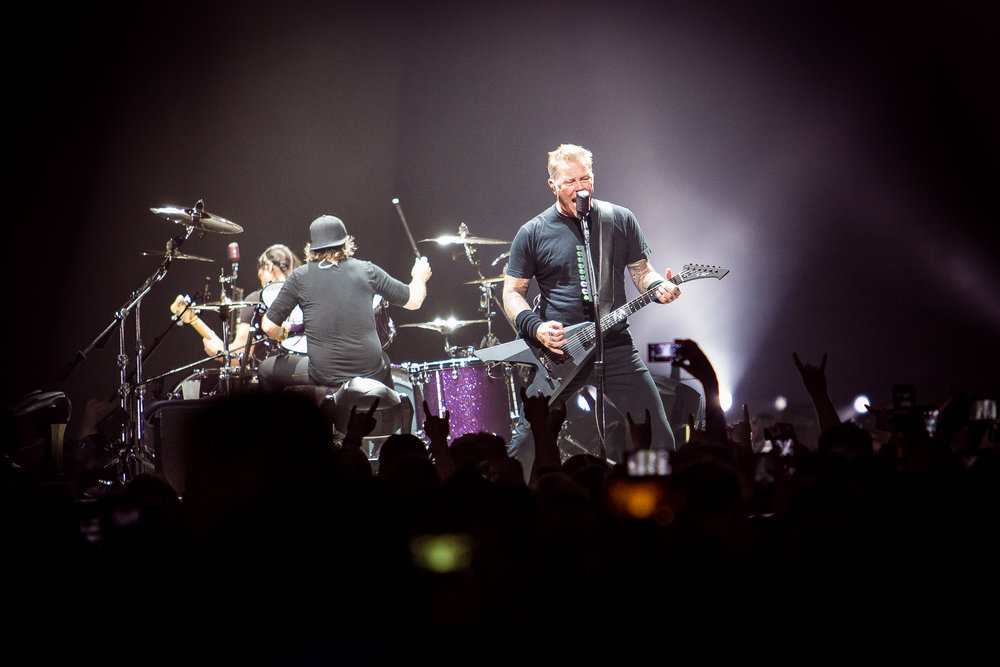 Metallica live at Telenor Arena