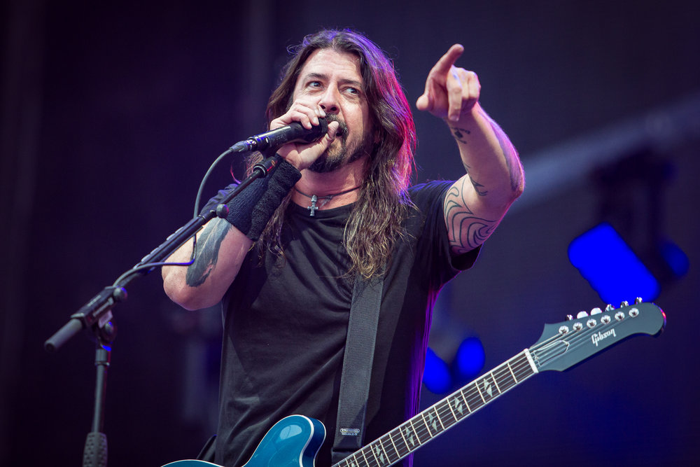 Foo Fighters live at Nya Ullevi