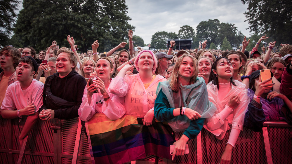 Audience at Øyafestivalen