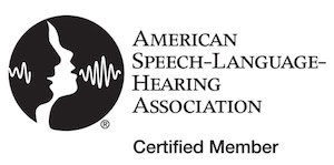 ASHA American Speech Language Hearing Association Certified Member