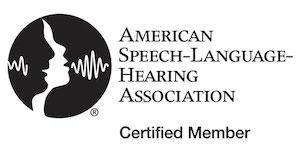 ASHA American Speech Language Hearing Association Certified Member
