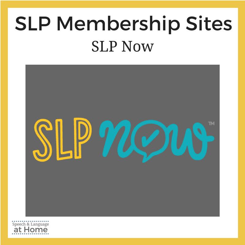SLP Membership Sites
