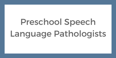 Speech and language therapy resources preschool speech language pathologists