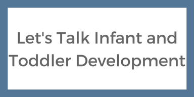 Speech and language therapy resources let's talk infant and toddler development