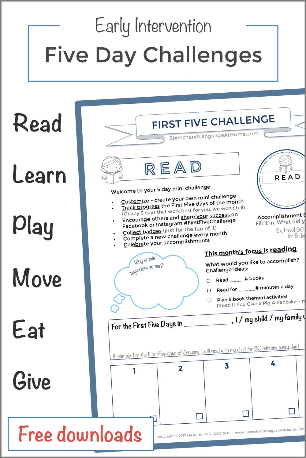 speech and language at home early language development handouts