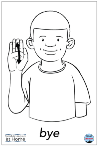 Early language parent handouts sign language bye.png