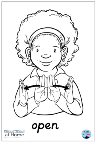Early language parent handouts sign language open.png
