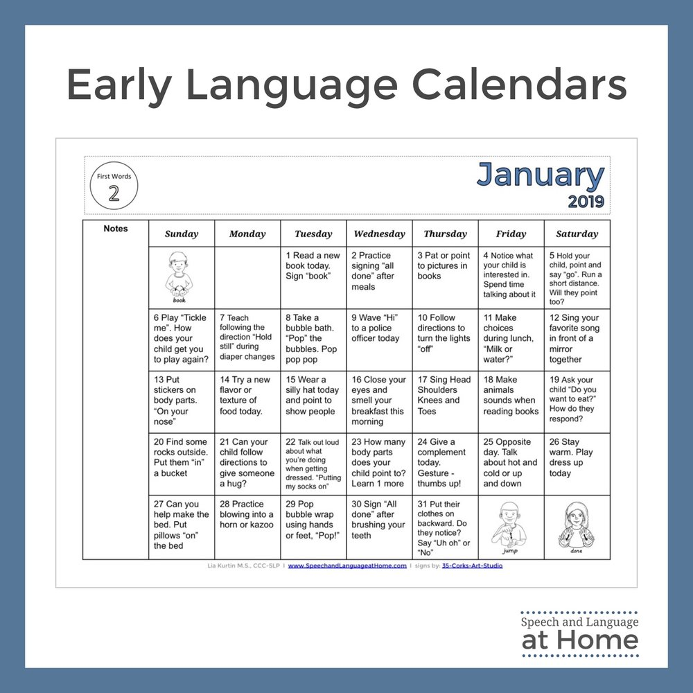 1 Early Language Calendars Speech and Language at Home January.jpg
