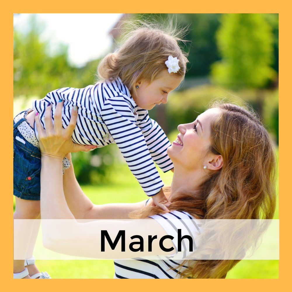 March Language Activities