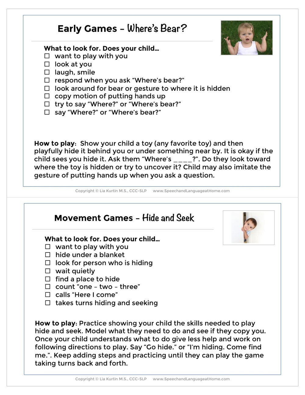 March Early and Movement Games