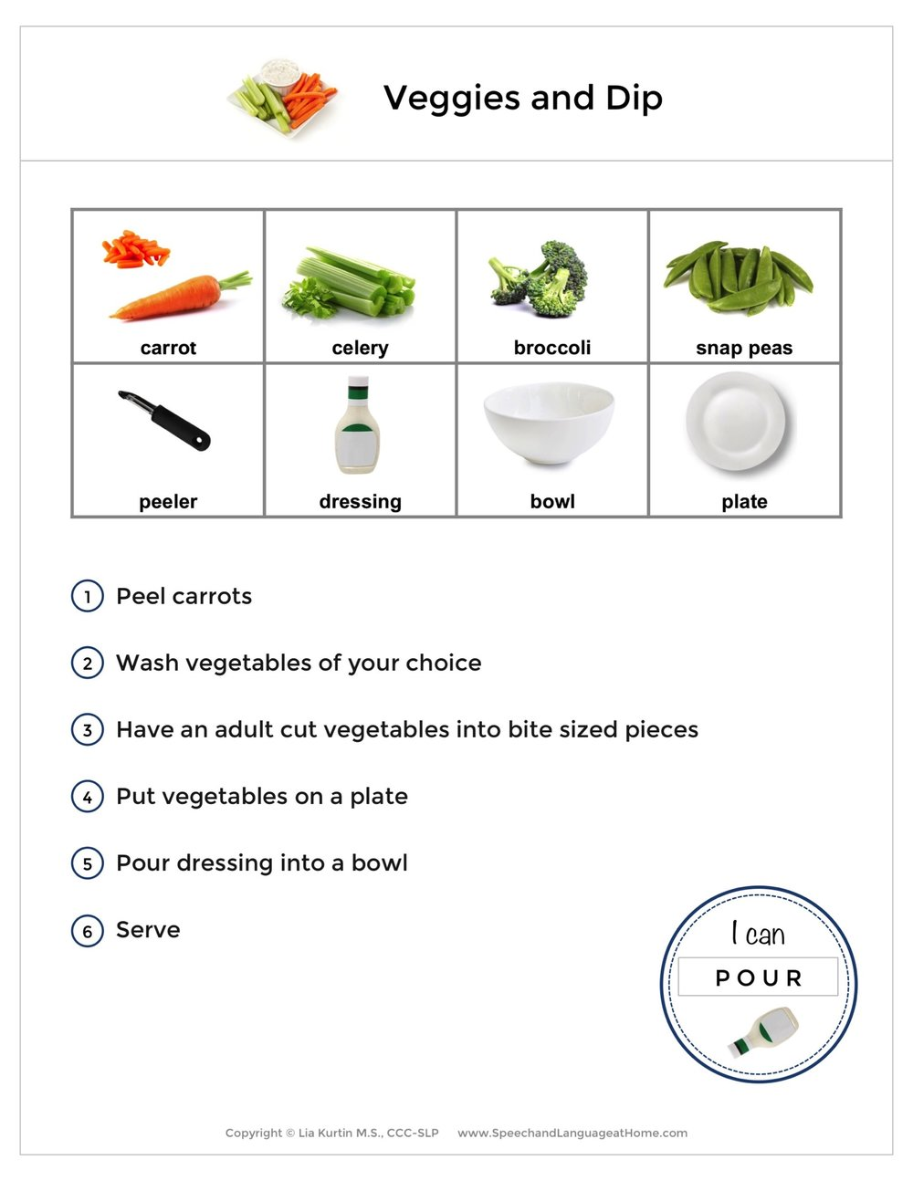 March Recipe