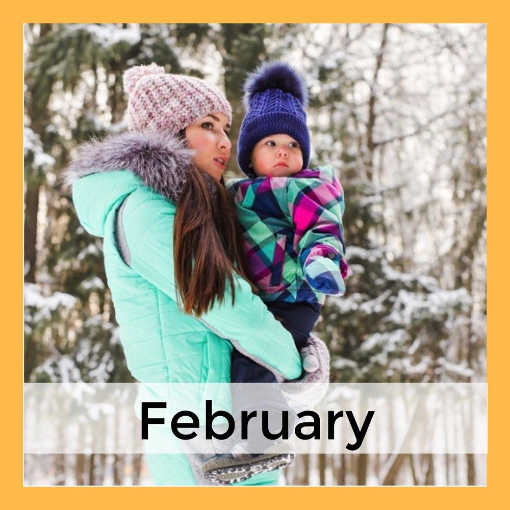 Winter Language Activities February