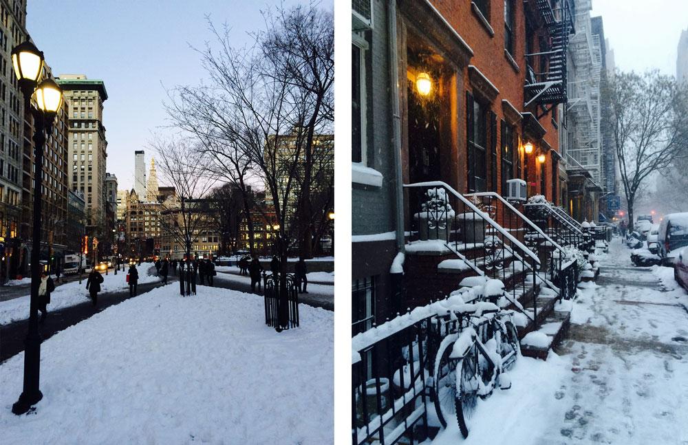 NYC Snow (Union Square & Chelsea)