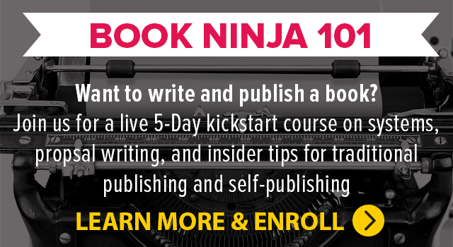 Book Ninja 101: 5-Day Live Series
