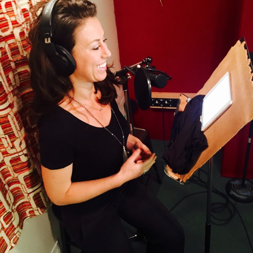 Jenny Blake — Author of Pivot — Audiobook Recording