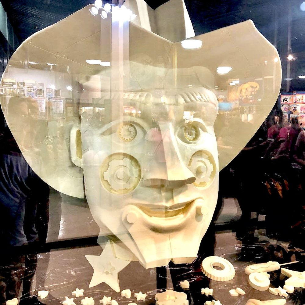 The 2018 butter sculpture by artist Ken Robison.
