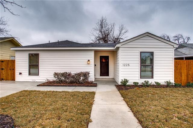 1225 W Illinois Ave was beautifully renovated and listed in December for $239,900.