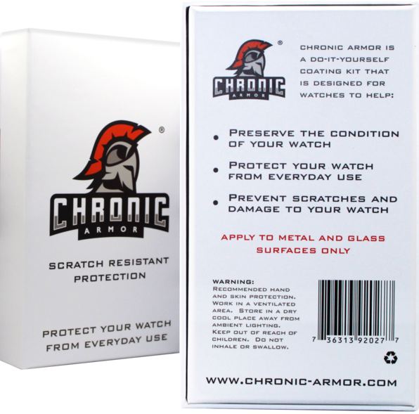 Chronic armor kit chronic armor premier nano coatings chronic armor diy kit solutioingenieria Gallery